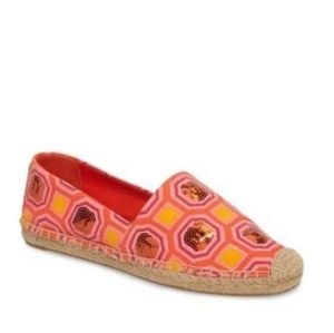 Tory Burch Cecily Sequin Espadrilles